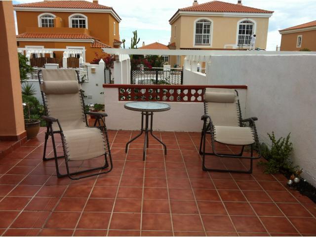 Patio to the side  - Tra Bhui , Caleta de Fuste, Fuerteventura