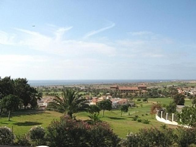 View of golf course from balcony  - Tra Bhui , Caleta de Fuste, Fuerteventura